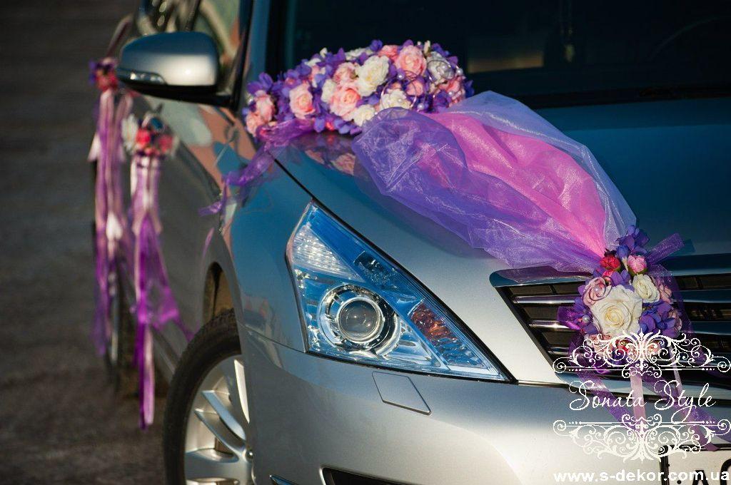 Украшения на свадебную машину мастер класс фото 84