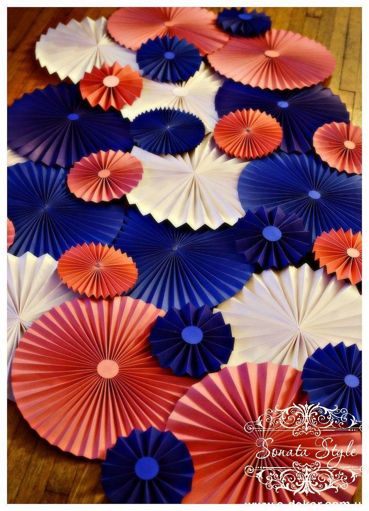 Цветы своими руками из бумаги для оформления